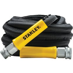 Item 705267, Expandable heavy-duty hose. 25 feet when not in use, expands to 50 feet.