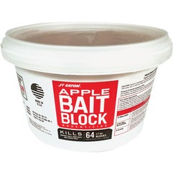Item 705688, Apple flavored bait block. Features a tamper evident resealable pail.