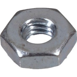 Item 710156, 6-sided hex machine screw nuts are available in smaller sizes than full hex