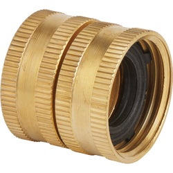 Item 714597, Brass swivel fitting ideal for connecting female hose to female hose
