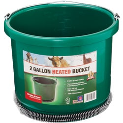 Item 721059, Oversized 2-gallon bucket. Holds 9 quarts. 60 watts of power.