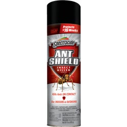 Item 723665, Kills carpenter ants, ants, spiders, beetles, fleas, and other listed insects. Kills on contact and provides up to 4 month control.