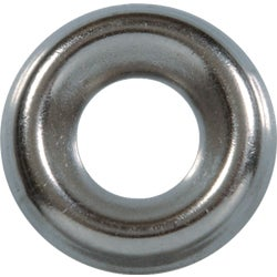 Item 736591, Flat head screw recesses into the finish washer to provide a clean,