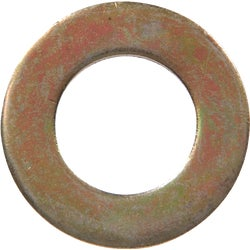 Item 743070, Hardened, yellow dichromate flat washer is used to spread the load of a