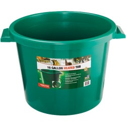 Item 755856, Midsize bucket, especially suitable for horses, calves, cattle, ostriches,