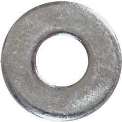 Item 766470, Zinc steel flat washer with wide pattern is used to spread the load of a