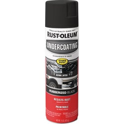 Item 771283, Protect the most valuable parts of your vehicle with RustOleum Rubberized Undercoating Spray.