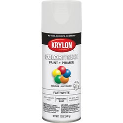Item 773972, Krylon ColorMaxx spray paint provides brilliant, on-trend colors in a variety of sheens. This product has smooth application with added rust protection.