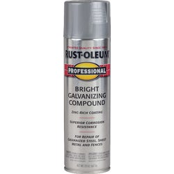 Item 783263, Rust-Oleum professional galvanizing compound spray applies galvanized finish to galvanized and sheet metal.