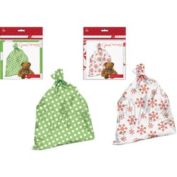 Item 900266, Giant plastic toy sack. Ideal for large toys or hard to wrap gifts.