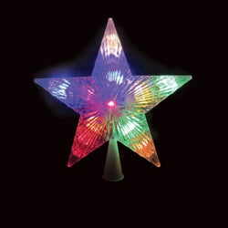 Item 900306, 12-light, dual color LED (light emitting diode) Christmas tree topper.