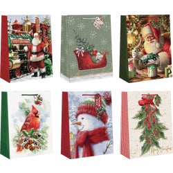 Item 900335, Large gift bag assortment - traditional style.